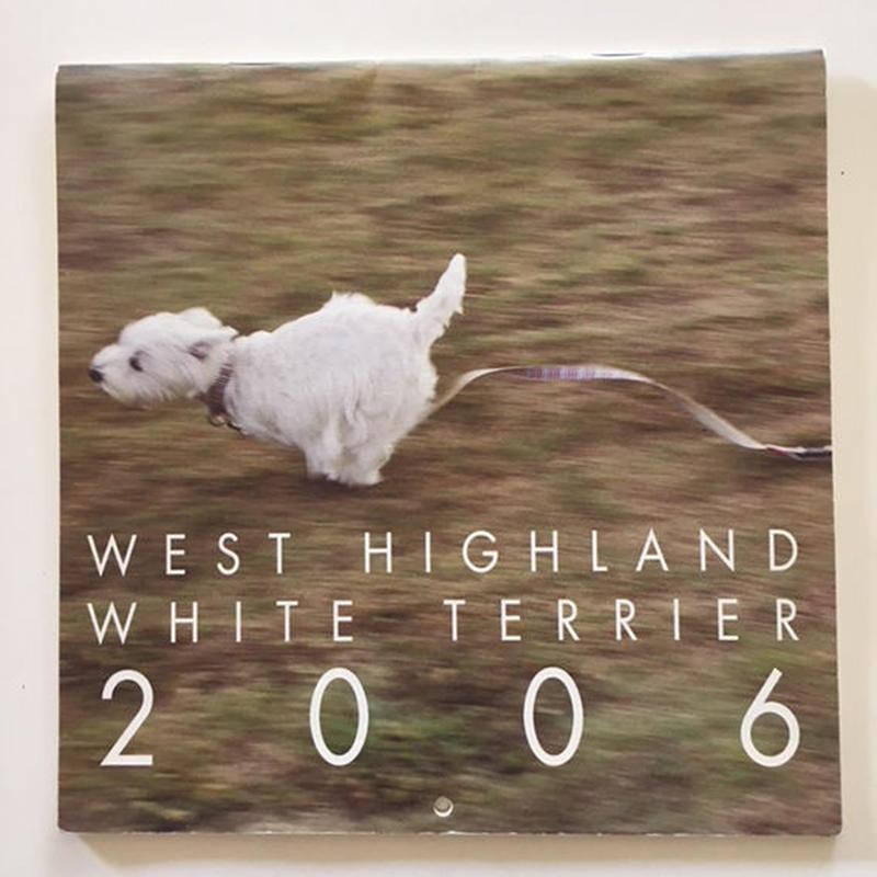 ウェスティ・カレンダー2006