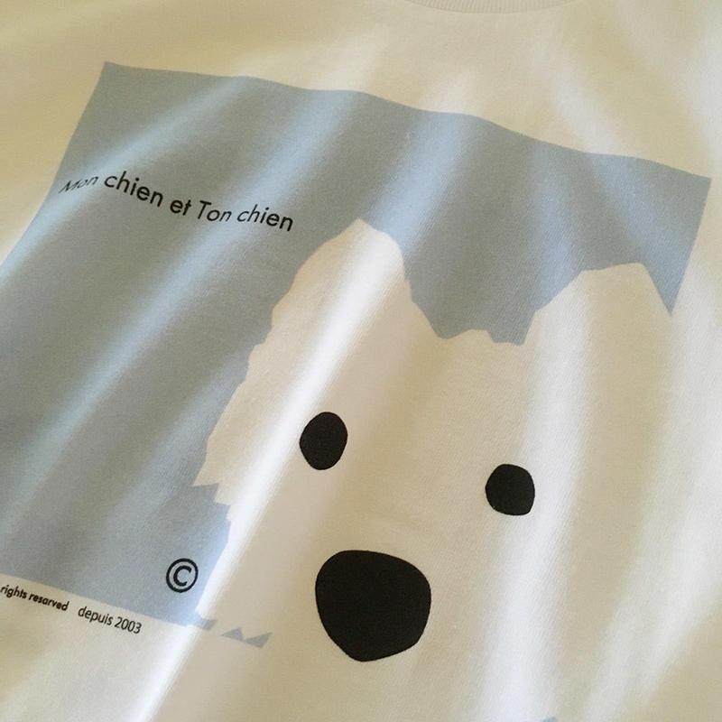 うちの子あの子 Tシャツ スコットランド-Ladies