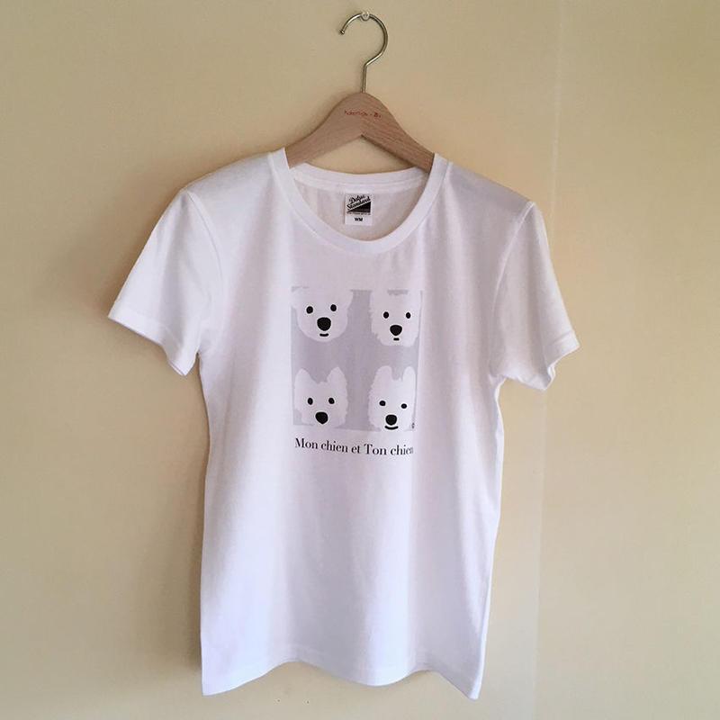 LadiesTシャツ-ベーシックGray