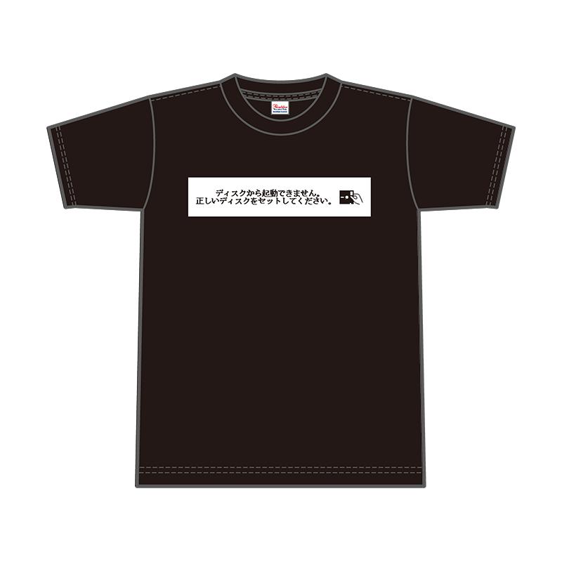 X68000 Tシャツ 「No Disk」