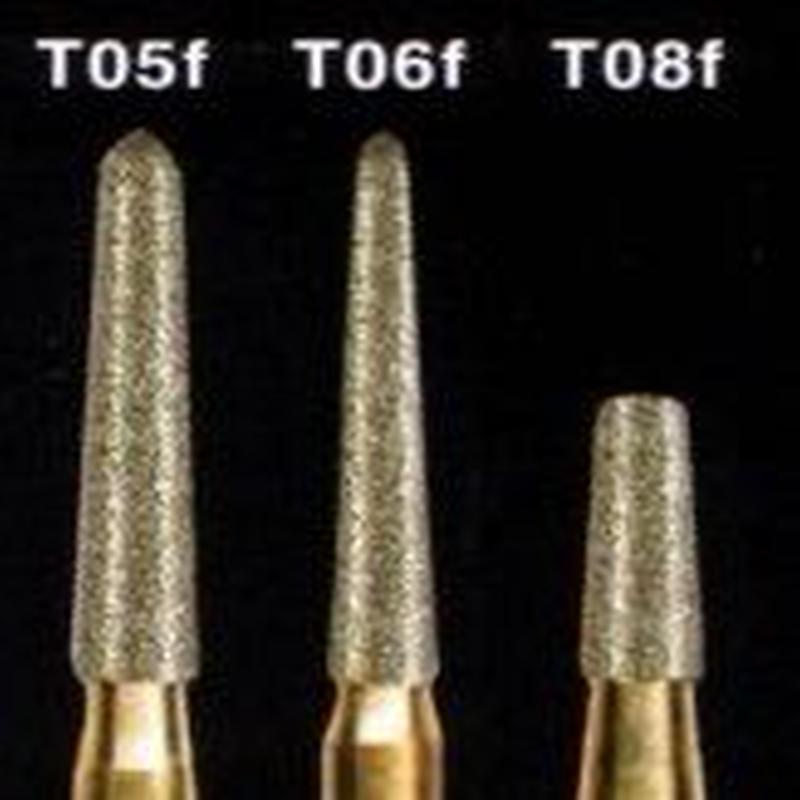 TMダイヤモンドバー T08f (10本入り)