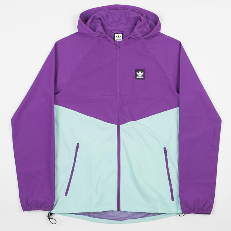 ADIDAS DEKUM PACKABLE WINDBREAKER JACKET