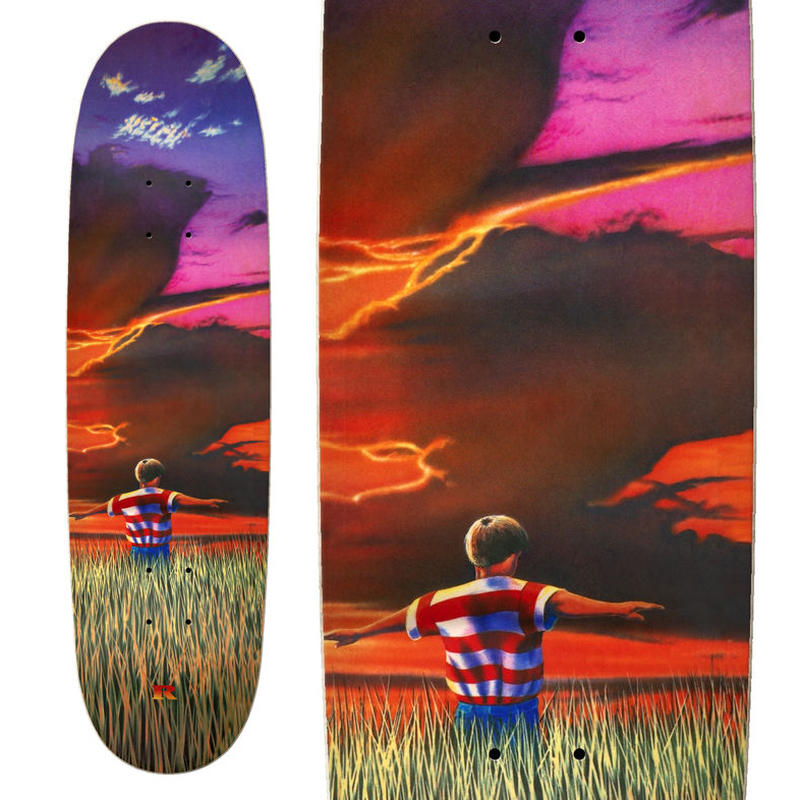 REAL JAMES KELCH FLYER SLICK DECK (8.75 x 31.5inch)