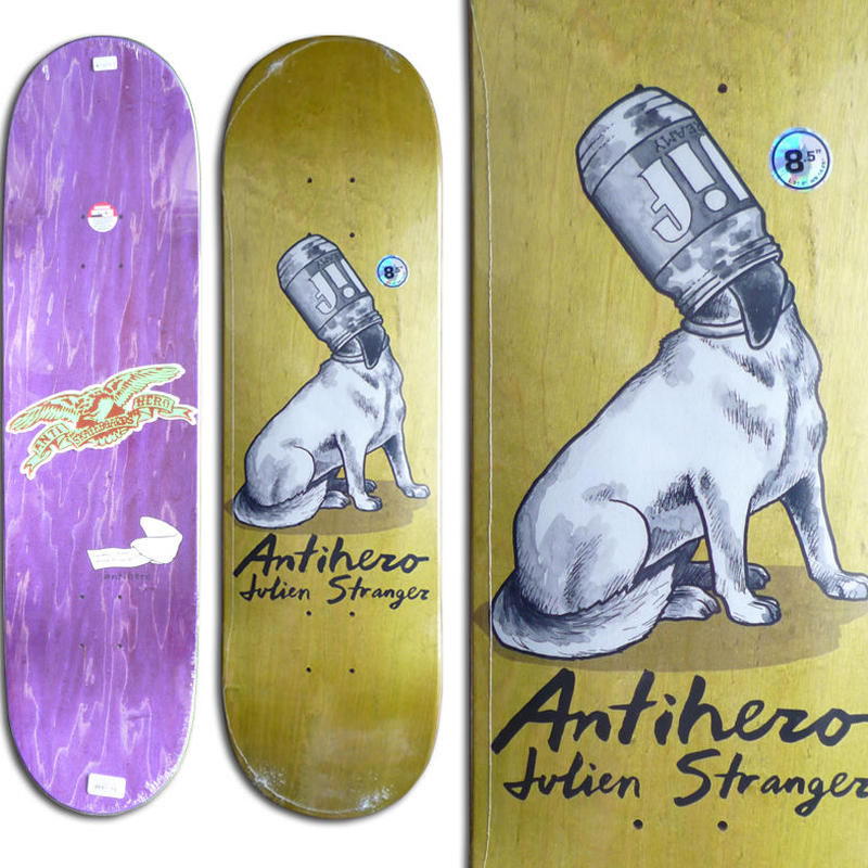 ANTI HERO JULIEN STRANGER IDIOMS DECK  (8.5 x 31.8inch)
