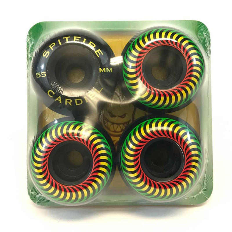 SPITFIRE  x ANTI HERO JOHN CARDIEL CLASSICS LIMITED WHEEL BLACK RASTA