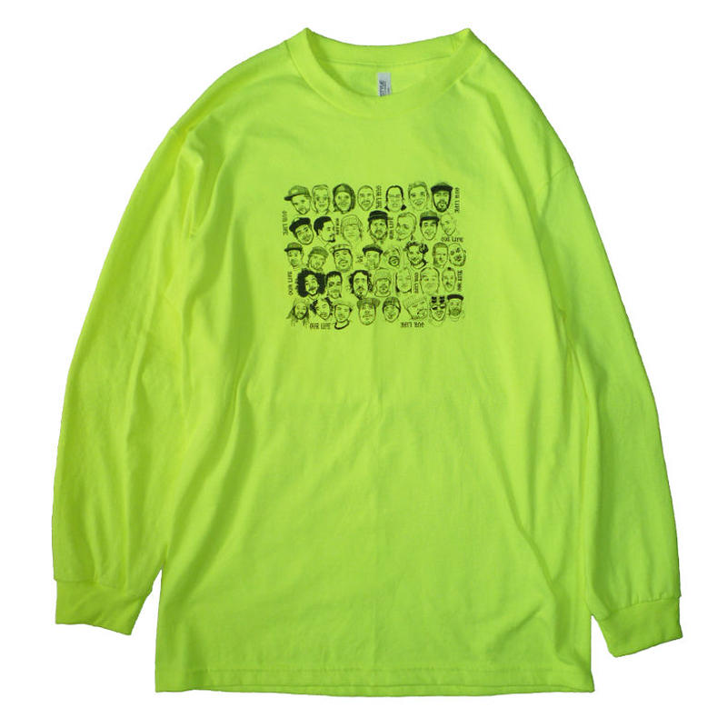 OURLIFE FACE LIFE L/S TEE