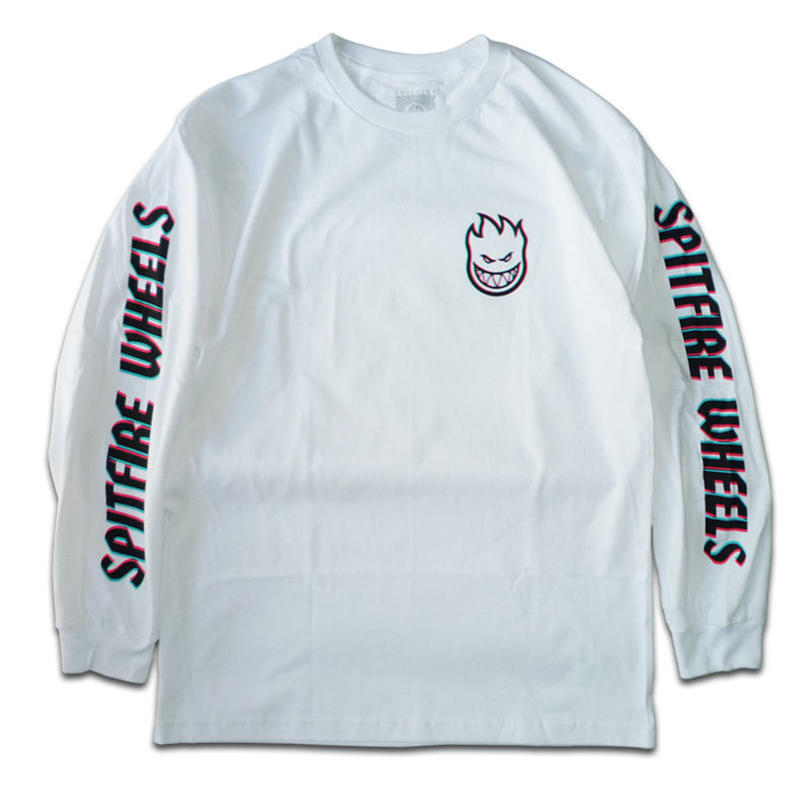 SPITFIRE OVERLAY LIL BIGHEAD HOMBRE L/S TEE