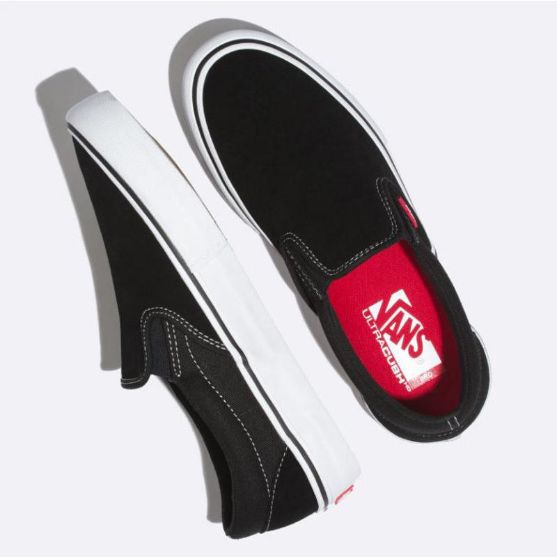 VANS SLIP-ON PRO SHOES BLACK / WHITE /GUM