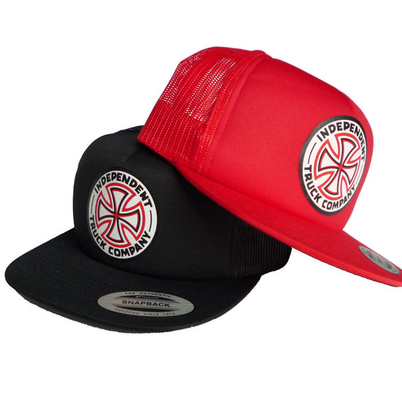INDEPENDENT CROSS MESH CAP