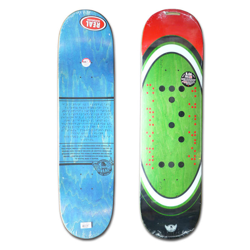 REAL DAN MANCINA BRAILLE DECK (8.06 x 31.5inch)
