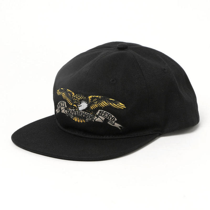 ANTI HERO EAGLE SNAPBACK CAP BLACK