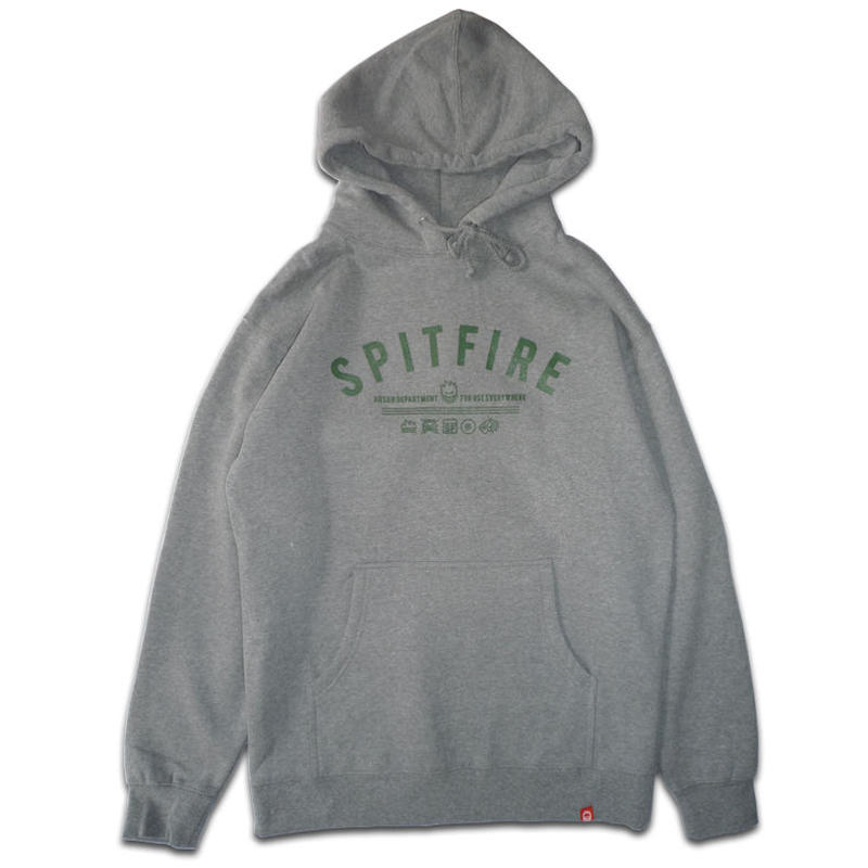 SPITFIRE BURN DIVISION PULLOVER HOODIE