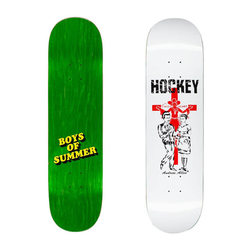 HOCKEY  ANDREW ALLEN BOYS OF SUMMER DECK   (8.25 x 31.79inch)