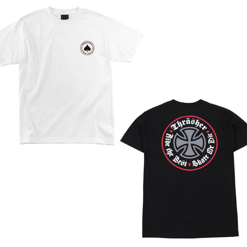 INDEPENDENT x THRASHER OATH TEE