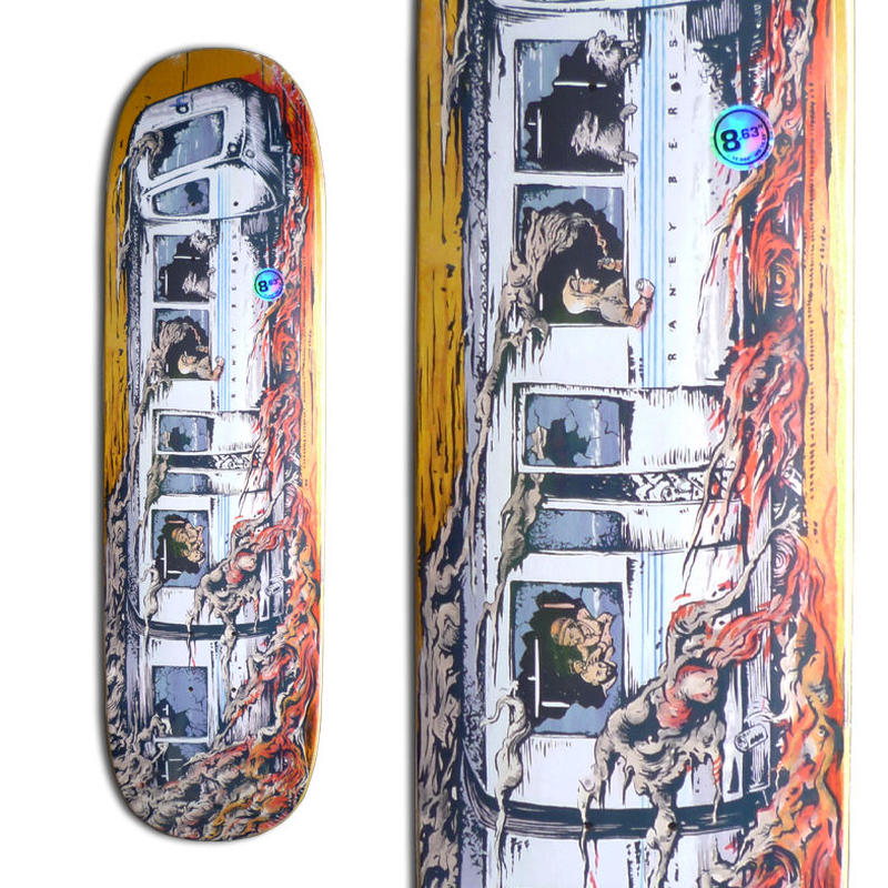 SALE! セール!  ANTI HERO RANEY BERES TRAINWRECK DECK (8.63 x 32.044inch)  RANEY SHAPE