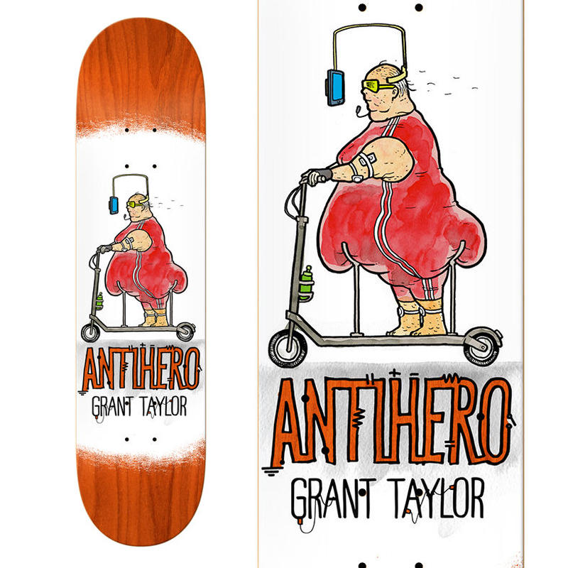 ANTI HERO GRANT TAYLOR ELECTRIC LUXURY DECK  (8.06 x 31.91inch)