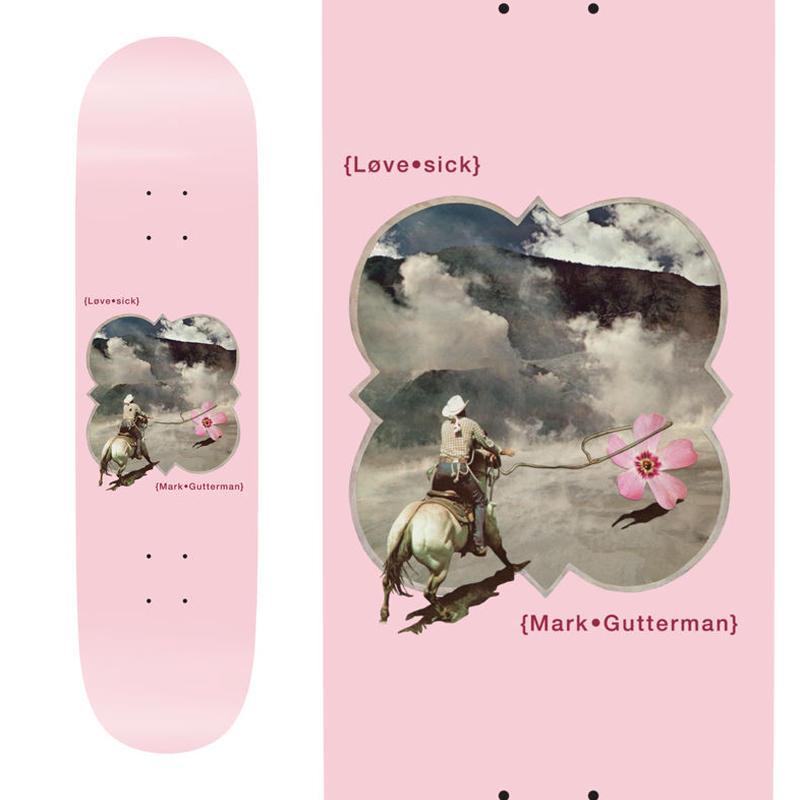 LOVESICK MARK GUTTERMAN FLOWERS DECK  (8 x 31.7inch)