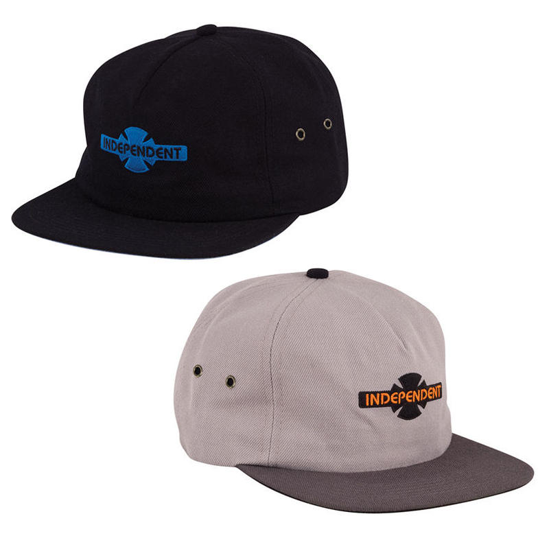 INDEPENDENT GENERATION BAR/CROSS STRAPBACK CAP