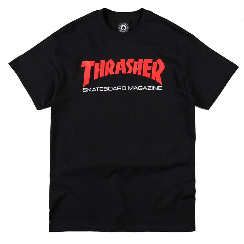 THRASHER  TWO TONE SKATE MAG TEE