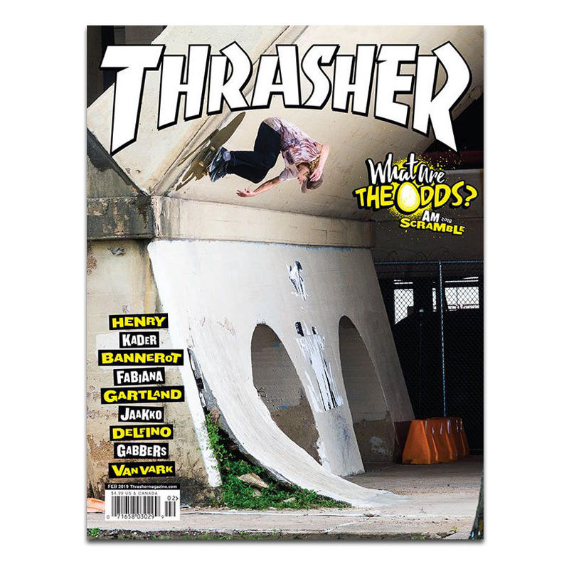 THRASHER MAGAZINE 2019 FEBRUARY ISSUE #463