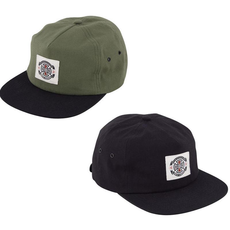INDEPENDENT ANYTIME LABEL STRAPBACK CAP