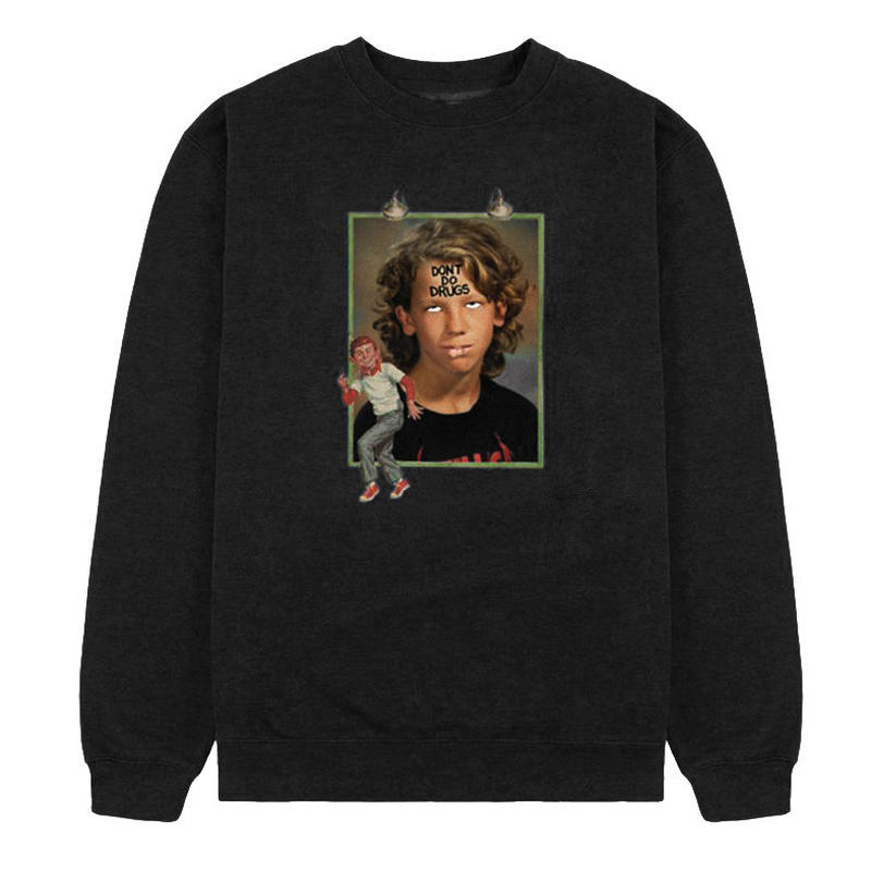 FUCKING AWESOME DILL DRUGS CREWNECK