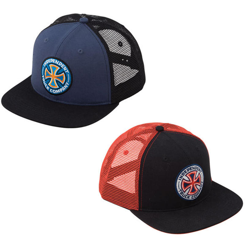 INDEPENDENT COLORS LOGO MESH CAP