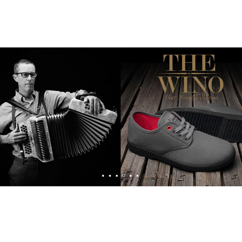 KINGSTON UNION THE WINO MATT HENSLEY SHOES