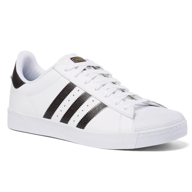 SALE! セール! ADIDAS SKATEBOARDING SUPERSTAR VULC ADV SKATE SHOES WHITE / BLACK / WHITE