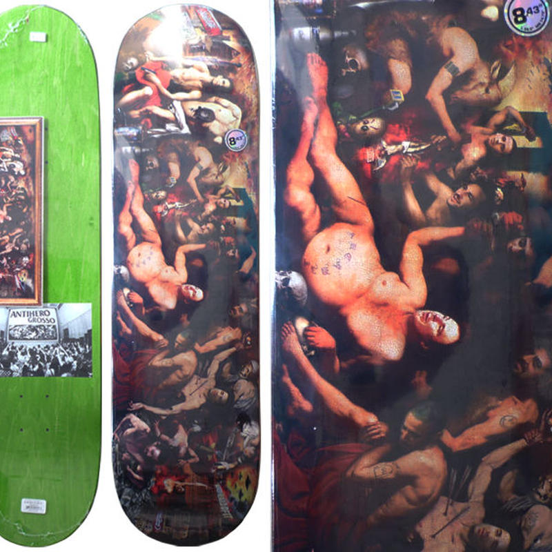 ANTI HERO JEFF GROSSO INFERNO DECK   (8.43 x 32.5inch, WB14.75)
