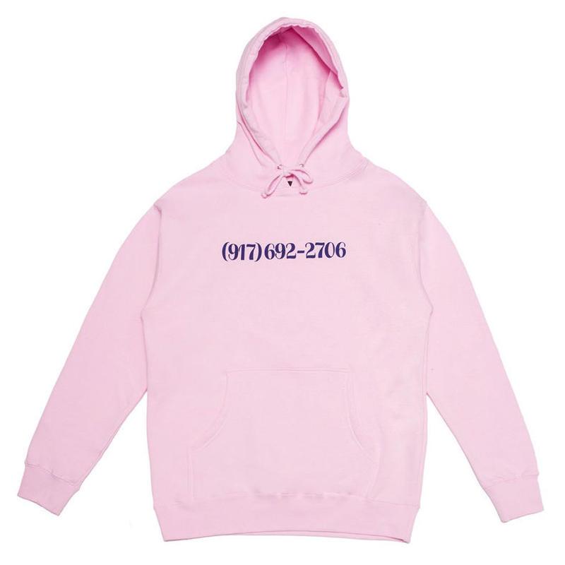CALL ME 917 DIALTONE HOODIE