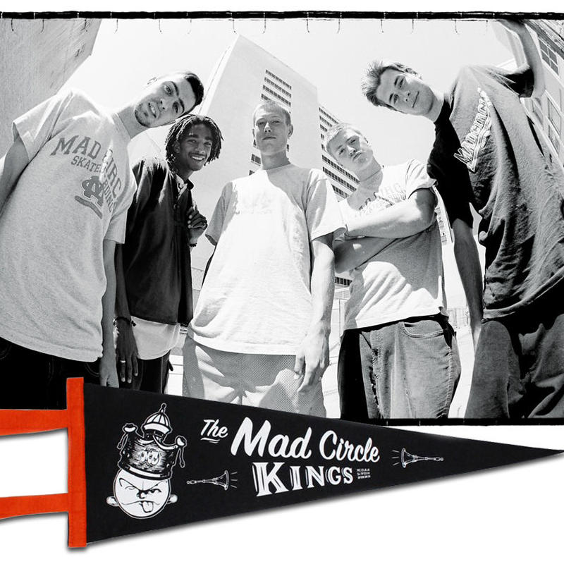 DEAR, x BEAMS SSZ x HESHDAWGZ MAD CIRCLE PENNANT