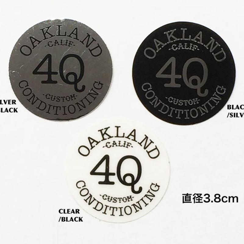 4Q CONDITIONING  LOGO STICKERS