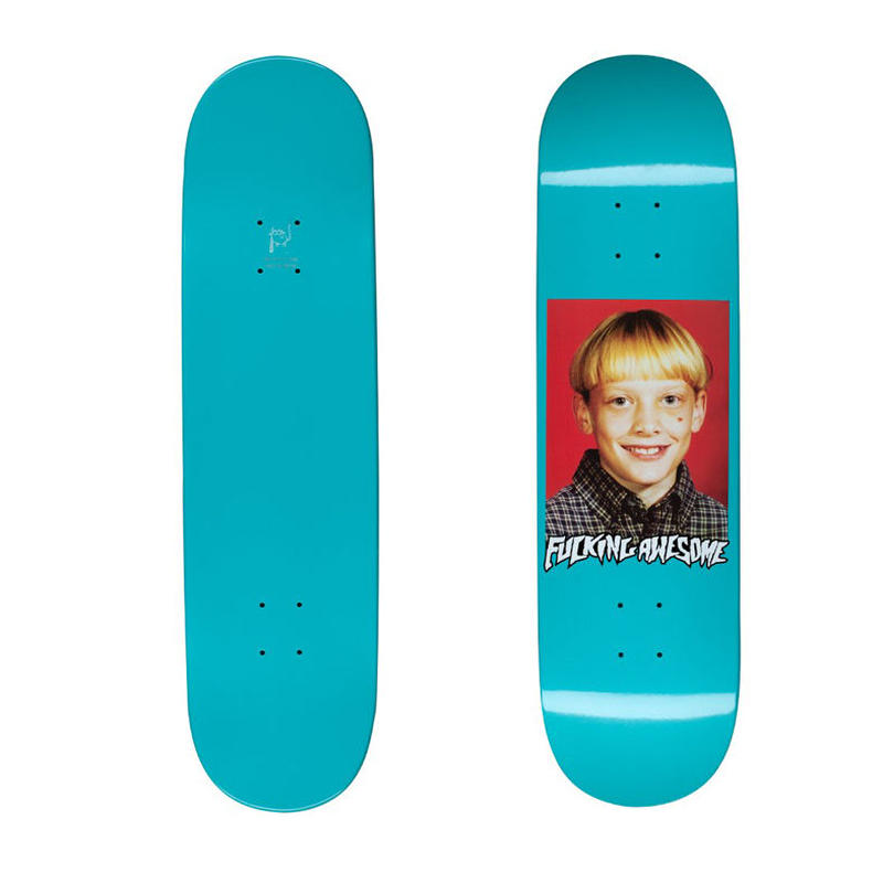 FUCKING AWESOME KEVIN TERPENING CLASS PHOTO DIPPED DECK  (8.5 x 33inch)