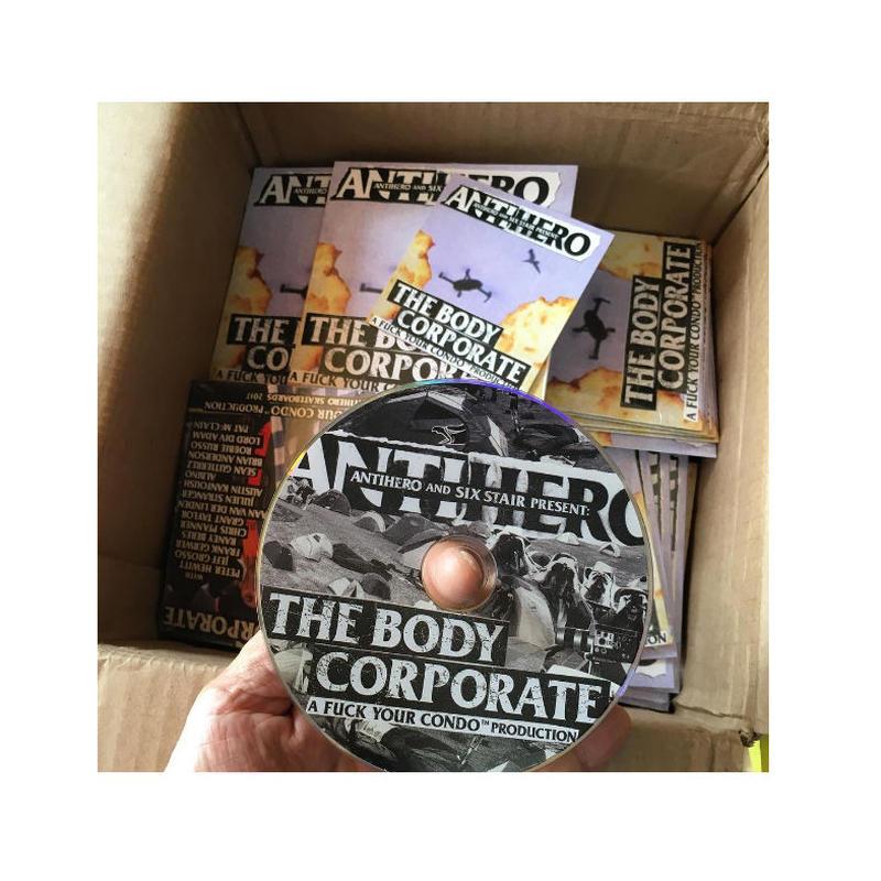 ANTI HERO BODY CORPORATE DVD
