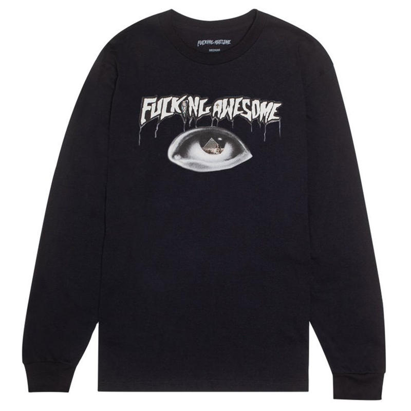 FUCKING AWESOME PYRAMID L/S TEE