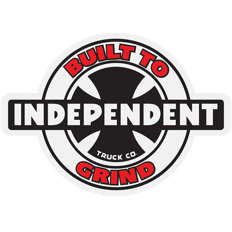 INDEPENDENT 95 BTG RING STICKER