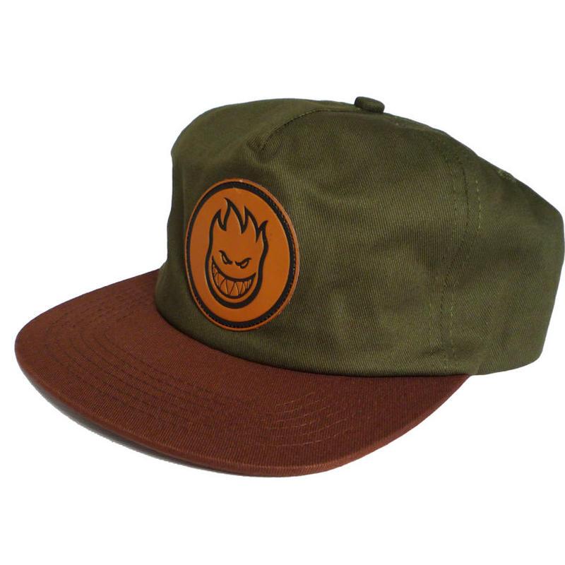 SPITFIRE BIGHEAD CIRCLE PATCH SNAPBACK CAP