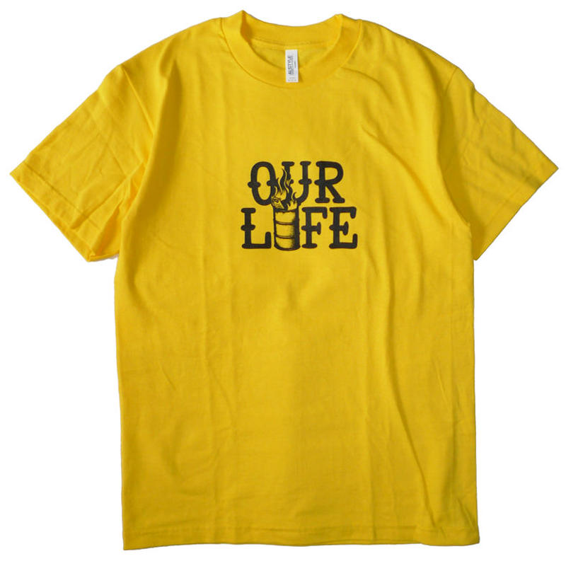 OURLIFE STACKED BARREL TEE