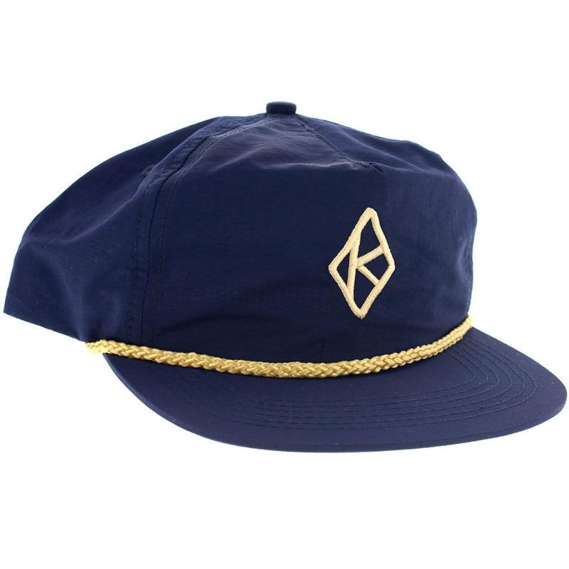 KROOKED DIAMOND K SNAPBACK CAP
