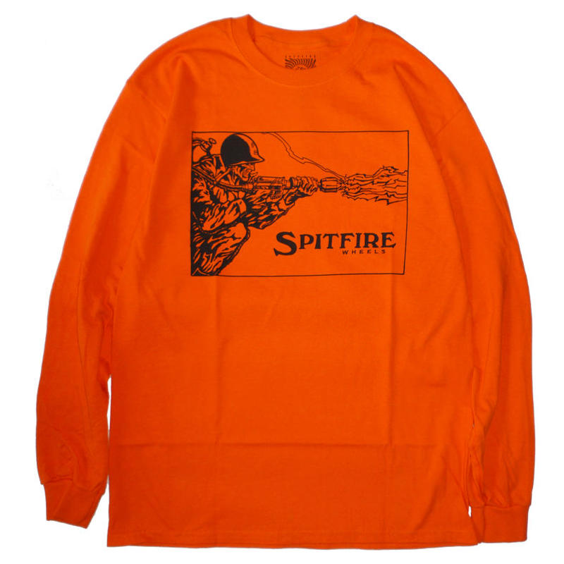 SPITFIRE FLAME THROWER L/S TEE