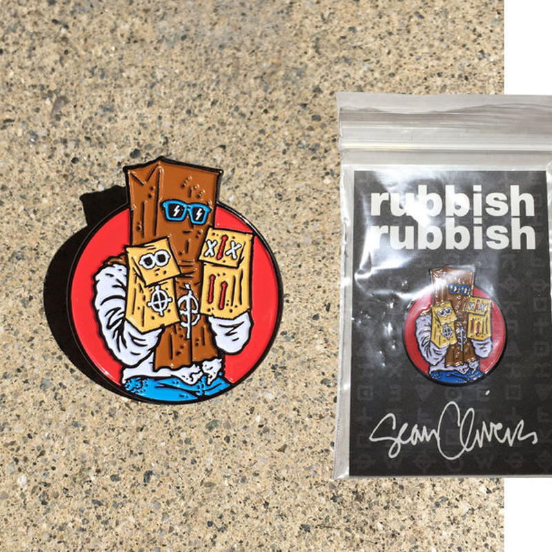RUBBISH RUBBISH  SEAN CLIVER PAISLEY1 PINS