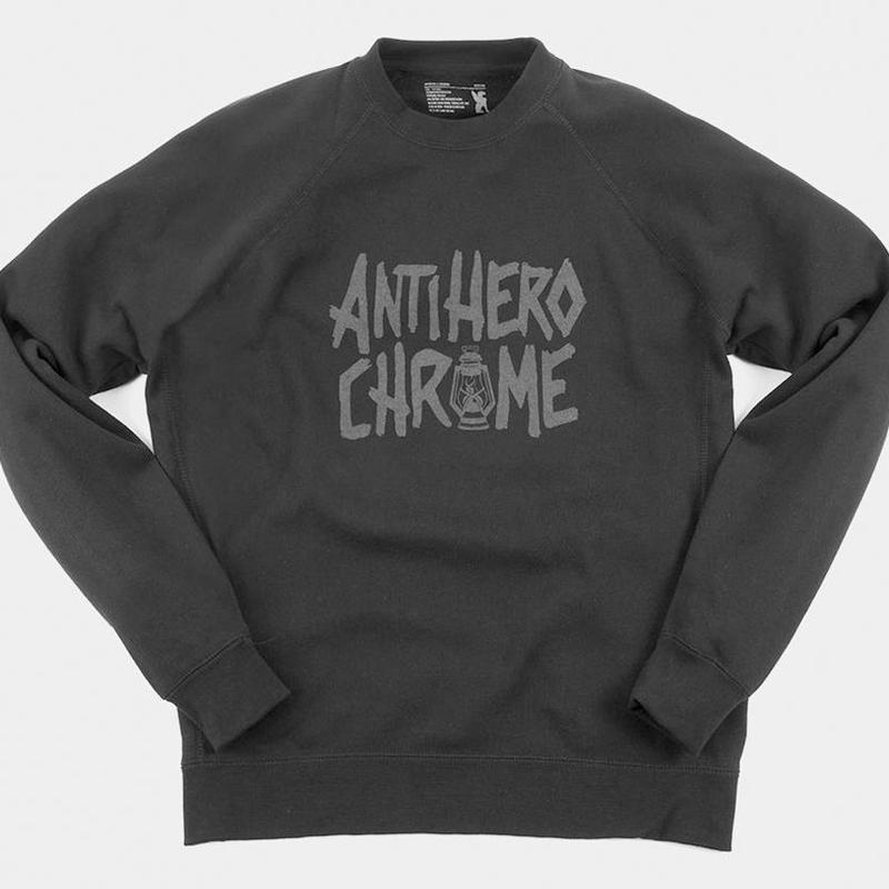 CHROME x ANTI HERO LIMITED CREWNECK SWEATSHIRT