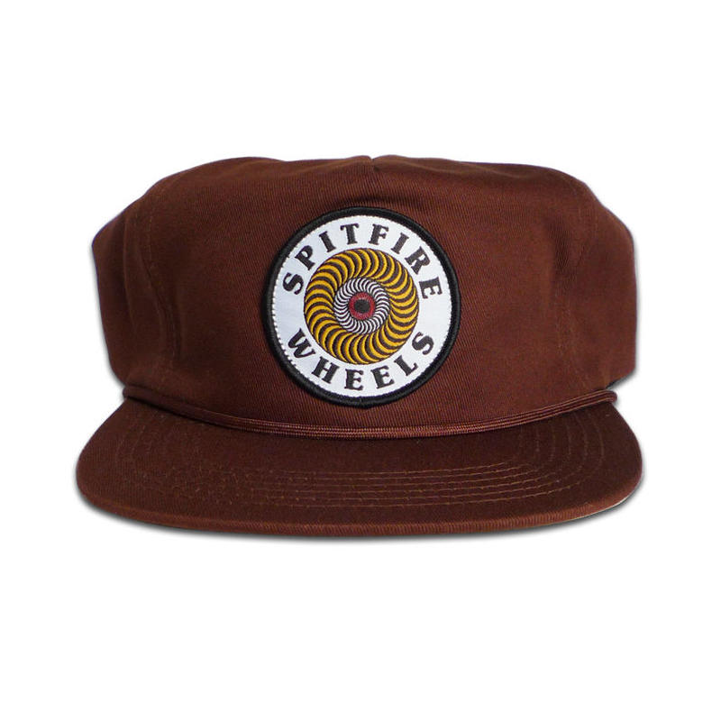 SPITFIRE OG CLASSIC SWIRL PATCH SNAPBACK CAP