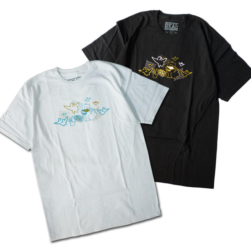 REAL ROLL 4 ROB GONZ TEE