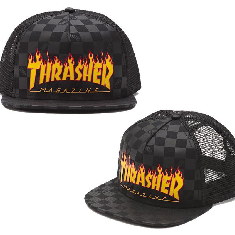 VANS x THRASHER MESH CAP