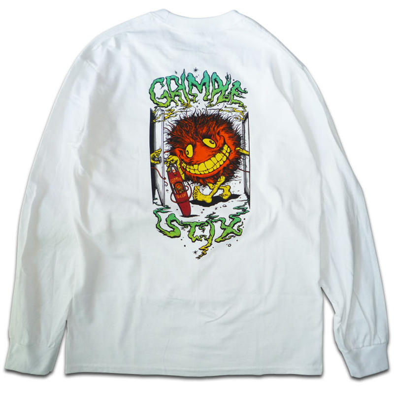 ANTI HERO GRIMPLE STIX GRIMPLE KEYMASTER POCKET L/S TEE
