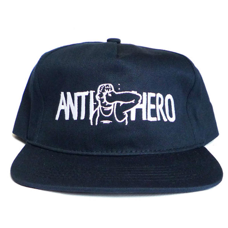 ANTI HERO PUNCH EMBROIDERY SNAPBACK CAP