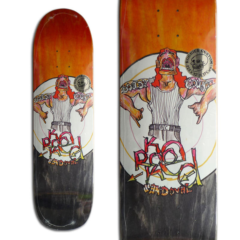 KROOKED RONNIE SANDOVAL BODYCOUNT DECK (8.25 x 32inch)