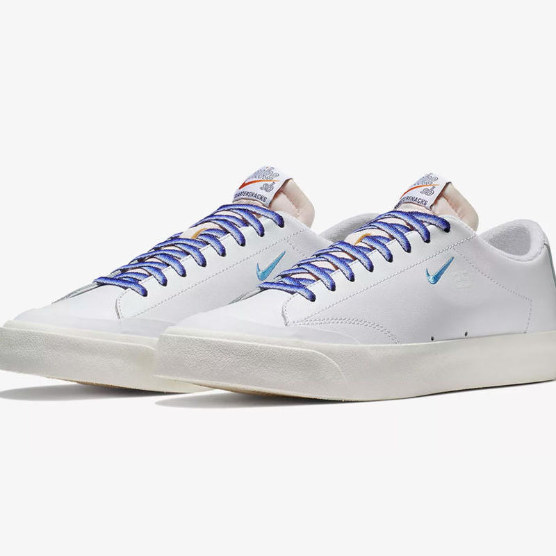 NIKE SB x QUARTERSNACKS ZOOM BLAZER LOW XT SHOES